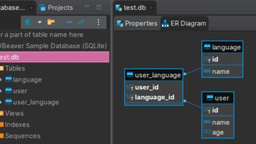 Как создать таблицы базы данных в Pythonсо встроенной СУБД