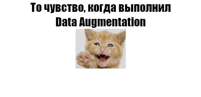 Расширяем датасет с помощью Data Augmentation в Tensorflow