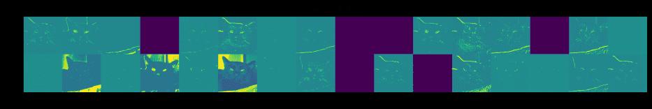 Все фильтры сверточной нейронной сети TensorFlow