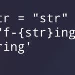 Примеры форматирования строк с помощью f-string