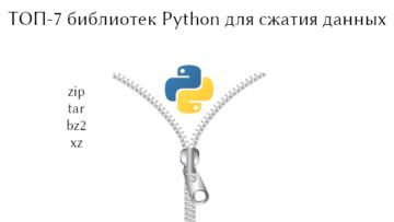 7 библиотек Python для сжатия и распаковки данных